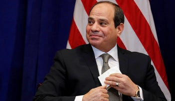 FILE PHOTO: Egypt's President al-Sissi pictured during the 73rd United Nations General Assembly in New York, Sept. 24, 2018