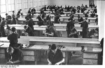 The factory of chemical giant IG Farben, in Auschwitz, in 1941.