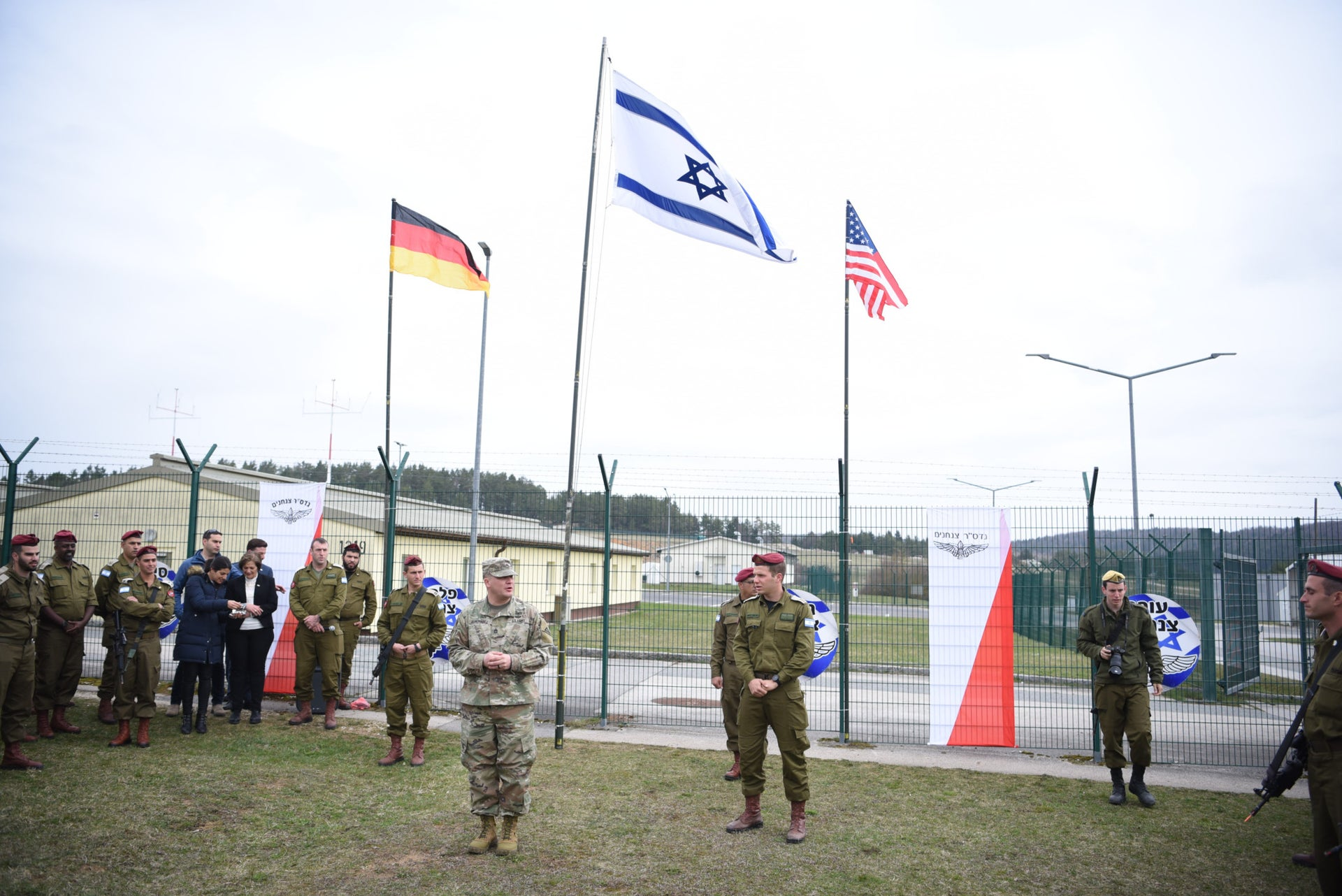 Israeli soldiers take part in a NATO exercise in Germany, April 2019.