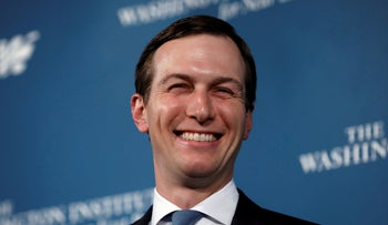 Jared Kushner speaks at the Washington Institute for Near East Policy, Washington D.C., May 2, 2019.