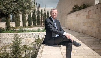 Yariv Levin in front of the Israel's High Court of Justice, Jerusalem, March 17, 2019.