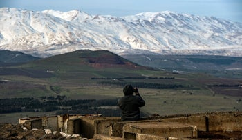 The Golan Heights, Israel, May 12, 2019.