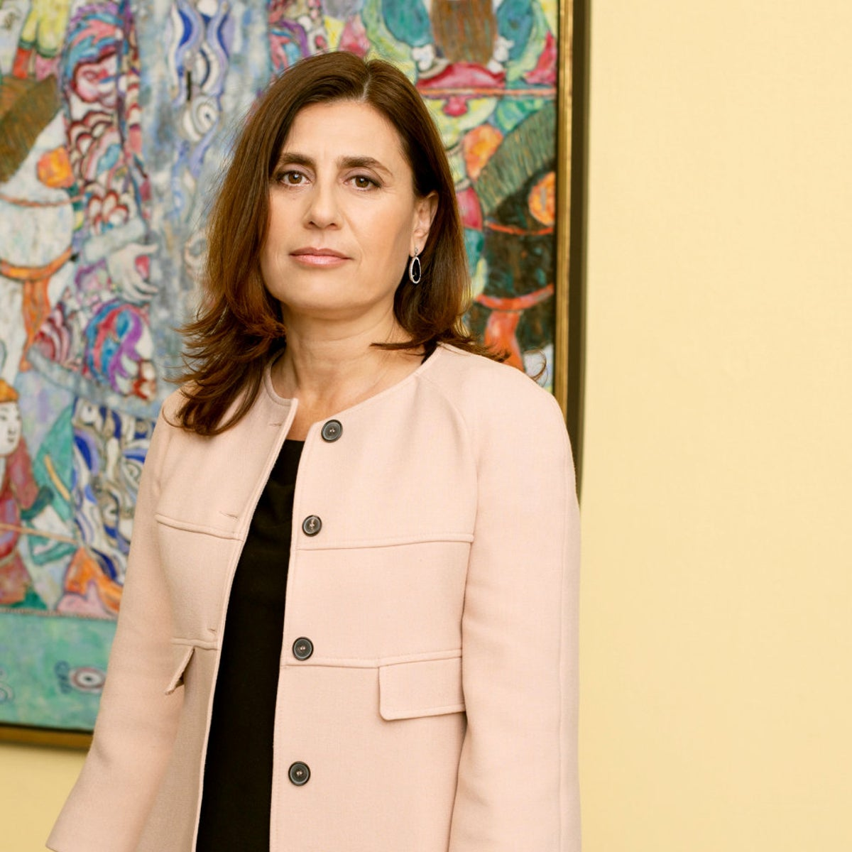 Tania Coen-Uzzielli. 'It's also very important to me to encourage the museum's staff'