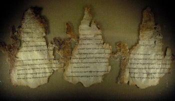 Three fragments from the Temple Scroll