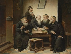 Rabbis debating
