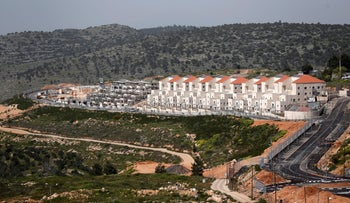 The Israeli settlement of Beitar Illit, south of Jerusalem, in the West Bank April 7, 2019.