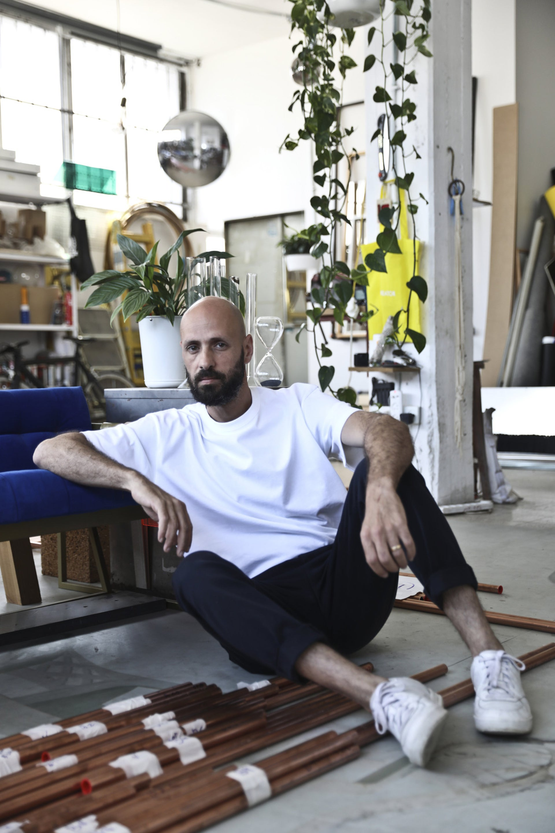 Israeli artist and designer Ohad Benit, May 2019.