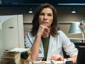 "Julianna Margulies in ""The Hot Zone."""