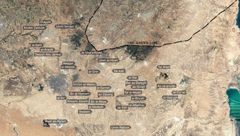 Umm al-Hiran is one of 35 Palestinian Bedouin villages that is unrecognised by Israel. Those