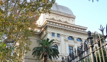 The Great Synagogue of Rome seen in 2011.