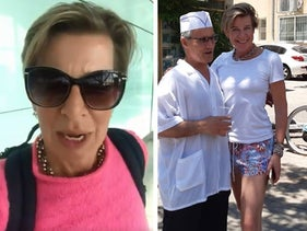 Katie Hopkins in Israel, pictures from her twitter account