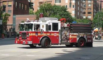 FILE Photo: A New York City Fire Department truck.