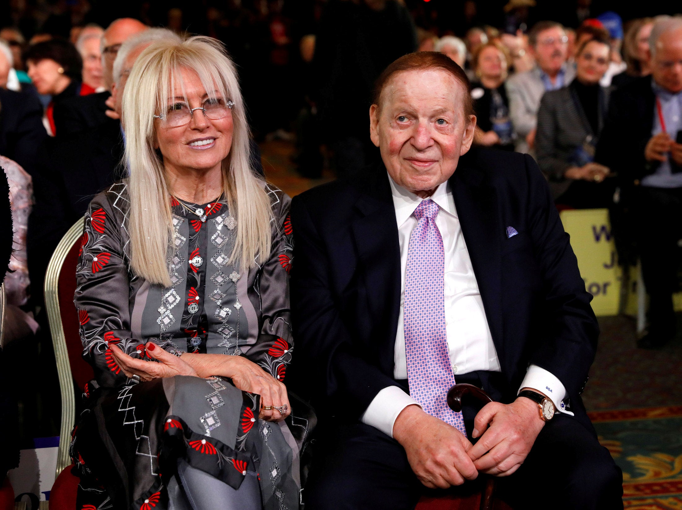 Mega-donor Miriam Adelson, now Israel's richest person, is ...
