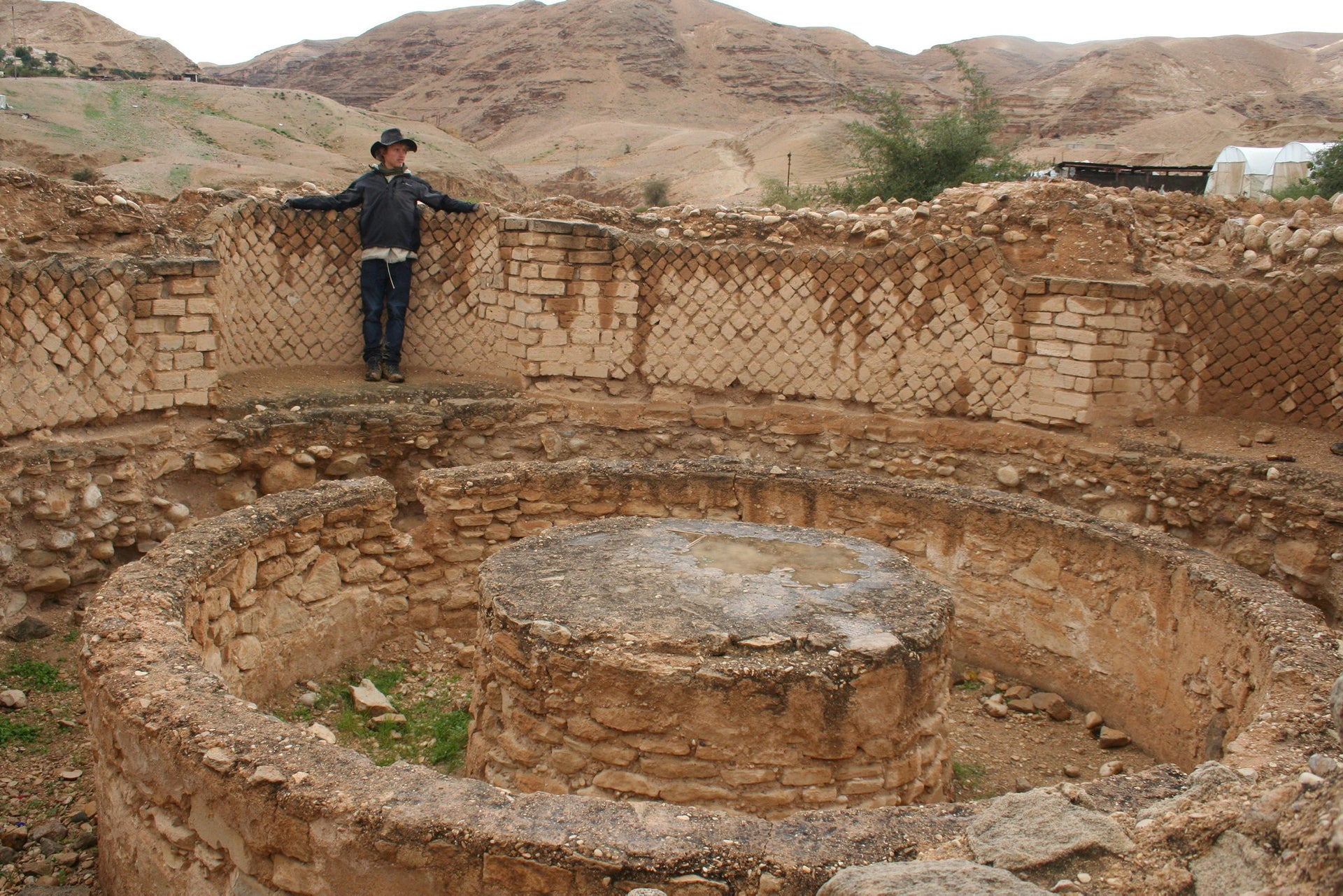 King Herod's palace in Jericho