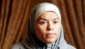 Dalal Daoud, who has been imprisoned for 18 years for murdering her abusive husband.