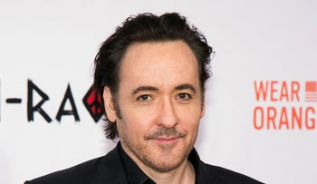 """Actor John Cusack attends the premiere of """"Chi-Raq"""" in New York, December 1, 2015."""