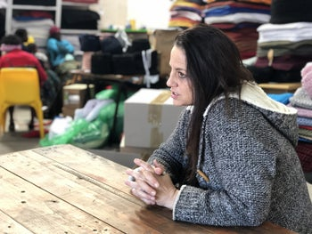 """Amanda Solomon, chairman of the board at H18 Foundation. """"Some of the social entrepreneurs I've met through this Mensch network have become my role models."""""""