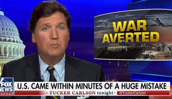 Fox News' Tucker Carlson reportedly at center of Trump's decision not to bomb Iran