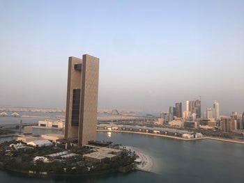 The Four Season Hotel in Manama where the economic workshop will take place, Bahrain, June 24, 2019.