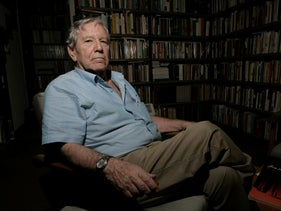 Amos Oz. 'I have never thought that violence is the ultimate evil in the world'