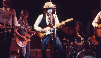 """From """"Rolling Thunder Revue: A Bob Dylan Story."""" Says Dylan: """"It happened so long ago, I wasn't even born."""""""