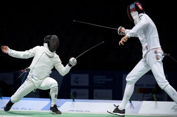 European Fencing Championships in Germany.
