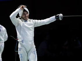 Yuval Freilich wins European Fencing Championships in Germany, June 18, 2019.