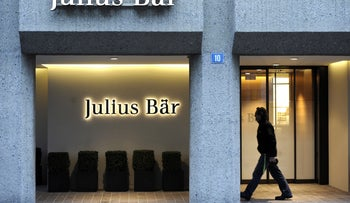 Swiss bank Julius Baer.