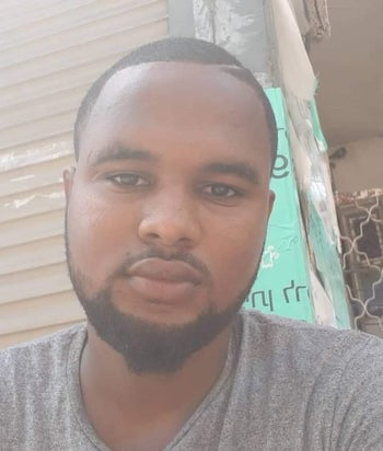 Solomon Teka who was shot dead by an off-duty police officer in northern Israel.