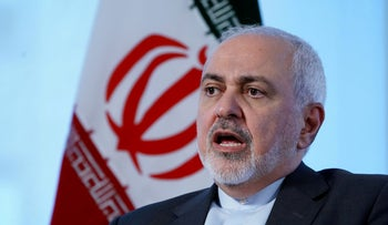 File photo: Iran's Foreign Minister Mohammad Javad Zarif sits for an interview with Reuters in New York, New York, U.S. April 24, 2019