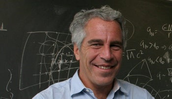 Jeffrey Epstein in Cambridge, MA in September 2004.