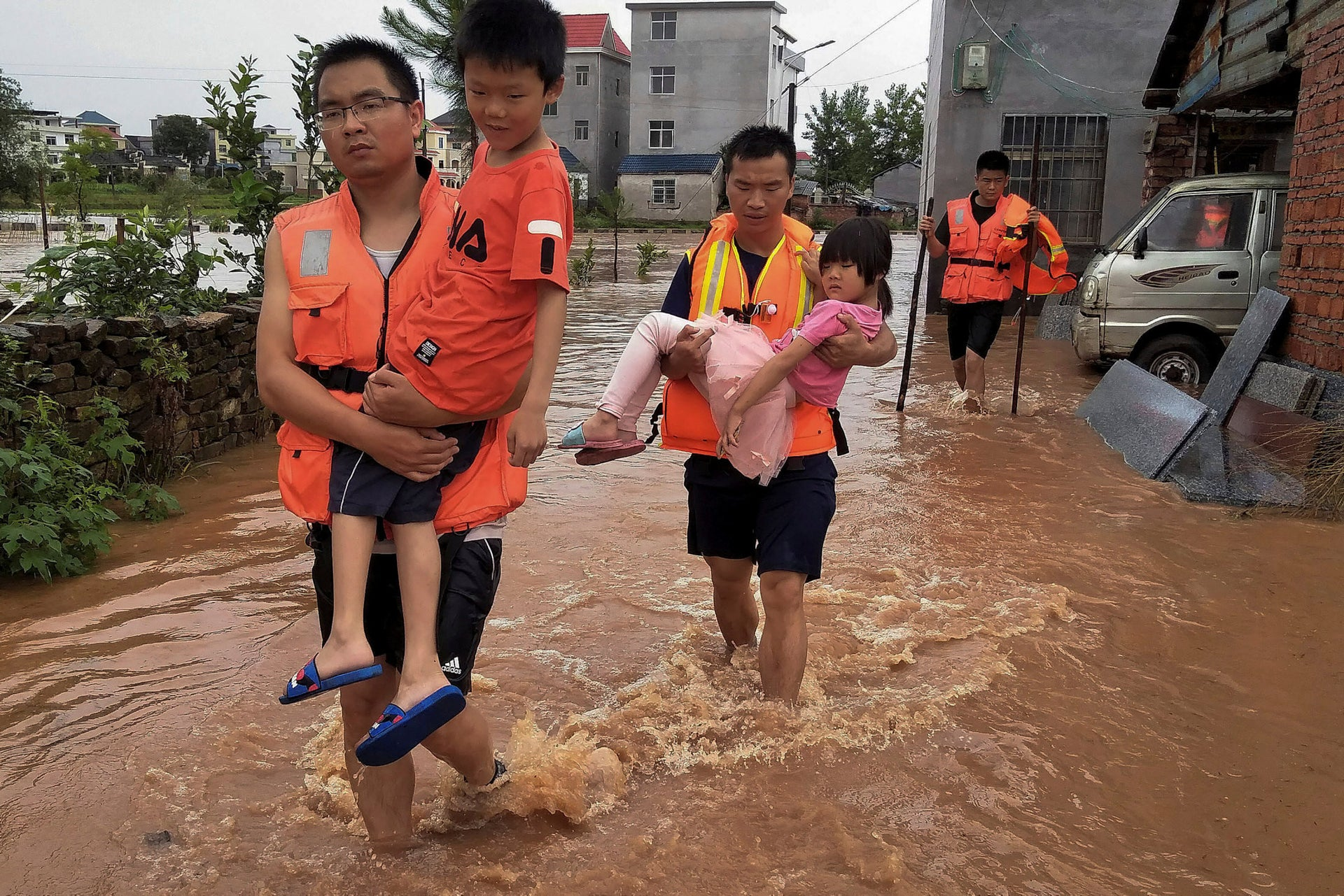 Flooding in China