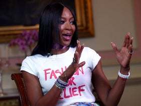 International supermodel and activist Naomi Campbell speaks to Reuters during an interview in London, Britain, June 24, 2019