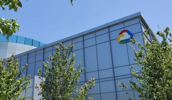 A Google Cloud logo outside of the Google Cloud computing unit's headquarters at the Moffett Place office complex in Sunnyvale, California, U.S., June 19, 2019.