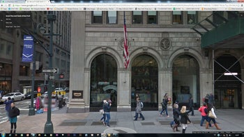 A branch of Israel's Discount Bank, in Manhattan, New York.