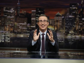 """""""Last Week Tonight with John Oliver"""" on HBO."""