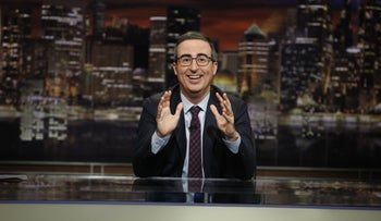 """Last Week Tonight with John Oliver"" on HBO."