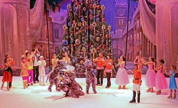 """""""The Nutcracker"""" by the Circus on Ice from Moscow."""