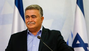 Amir Peretz, July 2019.