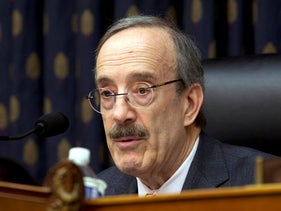 House Foreign Affairs Committee Chairman Rep. Eliot Engel D-N.Y., speaks during the House Foreign Affairs subcommittee hearing on Venezuela at Capitol Hill in Washington, on February 13, 2019.