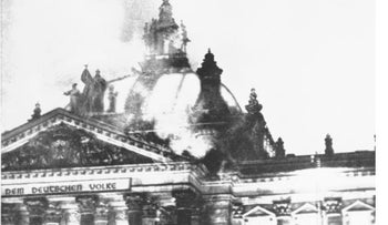 Reichstag fire, February 1933