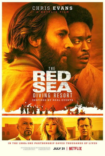 "The poster from Netflix's ""The Red Sea Diving Resort."""
