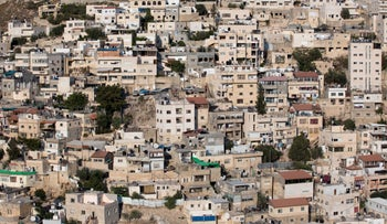 East Jerusalem's Silwan neighborhood.