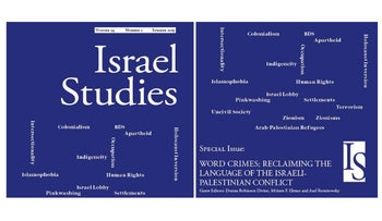 The Israel Studies 'Word Crimes' issue