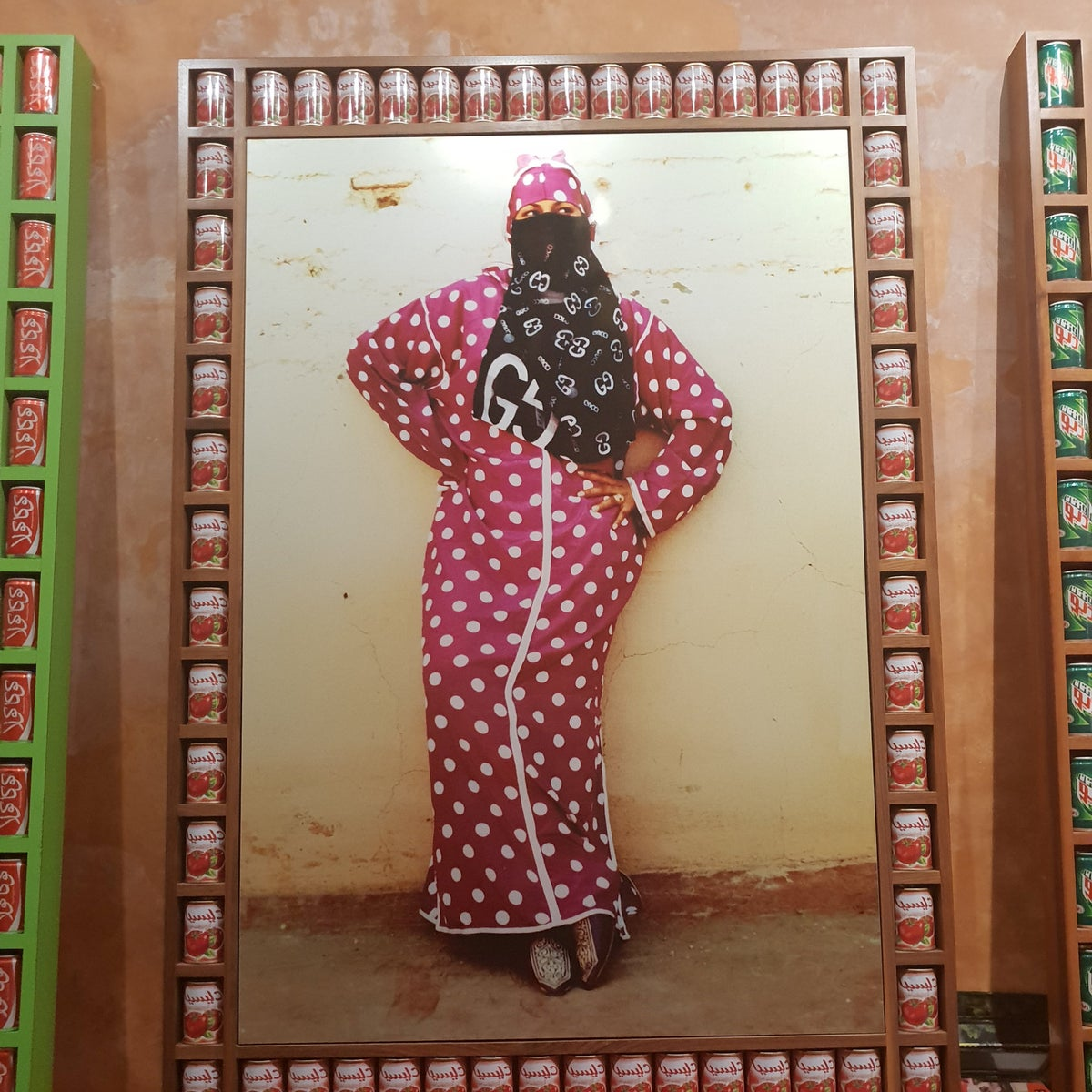 Riad Yima, an art gallery and boutique that showcases local handicrafts and is owned by Hassan Hajjaj.