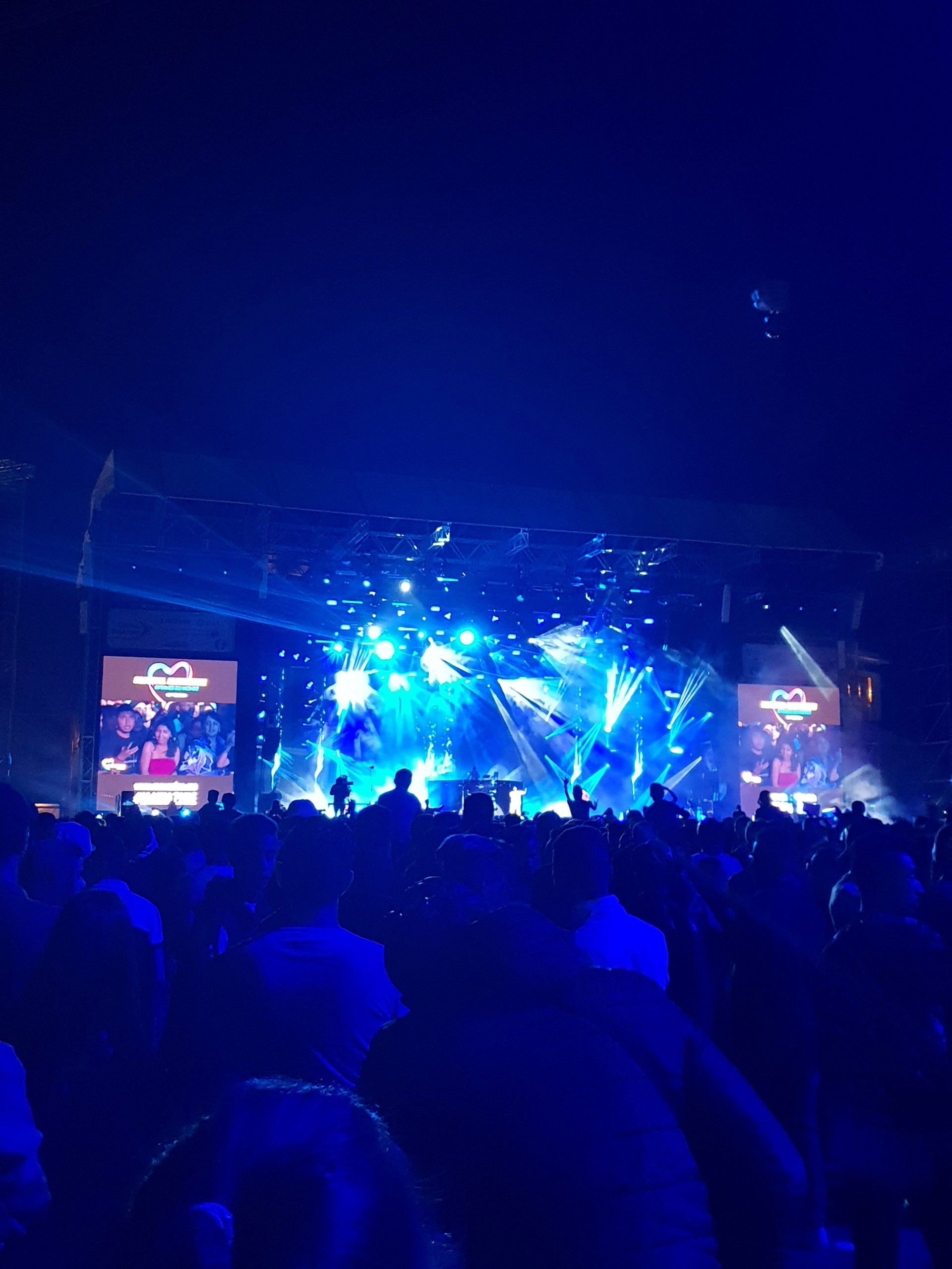 Migos' concert at the the Mawazine Festival in Rabat.