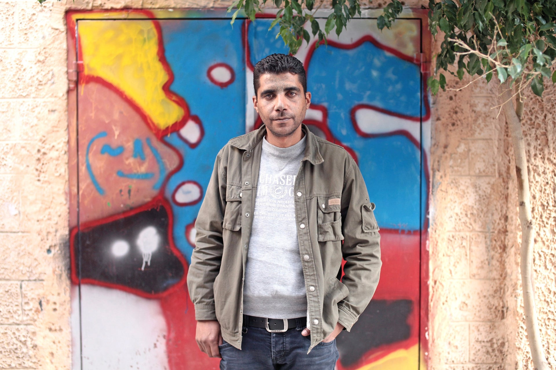 Zakaria Zubeidi, in 2011. As a teenager, he first met Barghout in the Tel Mond Prison.
