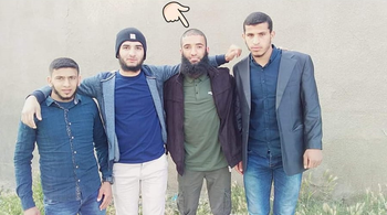 The Gazan men who breached the border on Saturday morning
