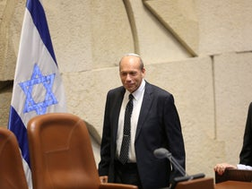 Matanyahu Englman sworn in as Israel's state comptroller at the Knesset, July 1, 2019.