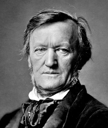 Richard Wagner. Other German composers who subscribed to Nazi ideology is indeed performed in Israel.